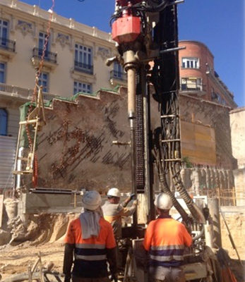 rehabilitación Palacio Madrid